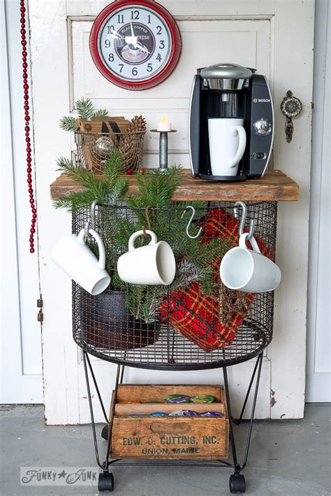 Hometalk   Vintage cart to instant hot chocolate station