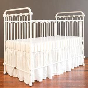 Antique White Baby Cribs Baby Crib Distressed White Iron Crib Crib And Nursery