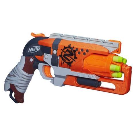 Nerf Hammershot nerf 169 strike hammershot blaster target