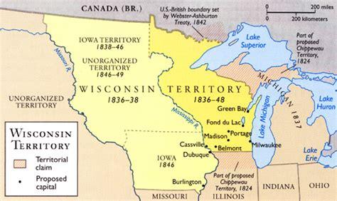 michigan territory map michigan s boundaries