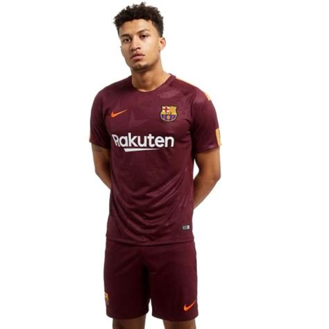 Jersey Barcelona 3rd 2017 2018 17 18 Fullset Grade Ori nike barcelona 3rd jersey 2017 2018