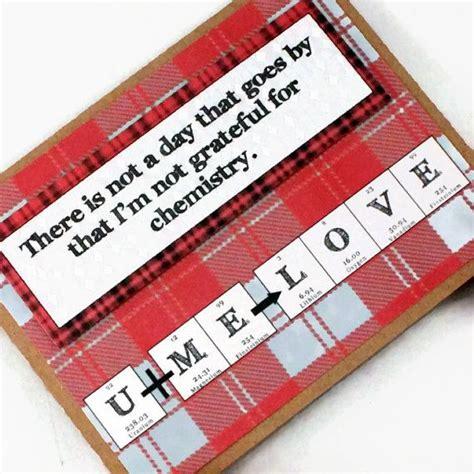 chemistry valentines day card chemistry s day science card by shopgibberish on
