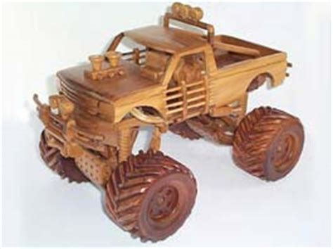 Wood Monster Truck Plans
