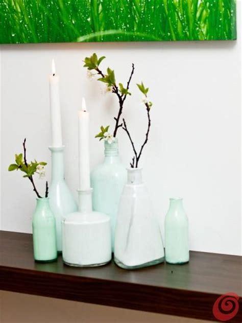vasi bottiglie vasi fai da te ricavati da bottiglie di vetro paperblog