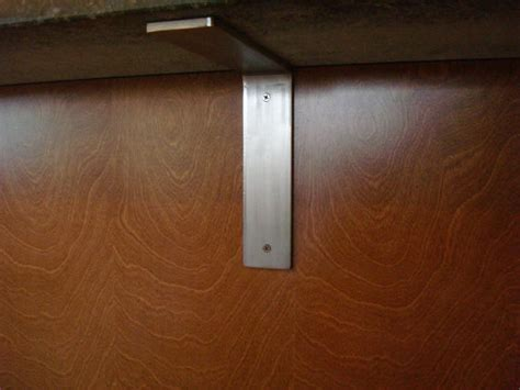 Stainless Steel Corbels For Granite Countertops brushed stainless steel countertop corbel support bracket