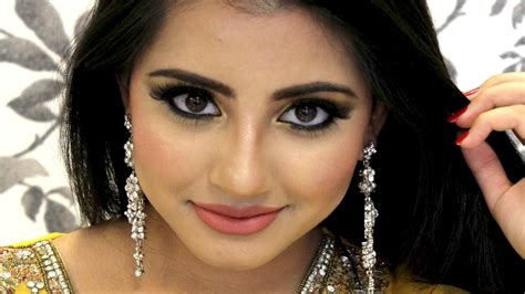 Andiani Black Ly smokey eye makeup tutorial for mehndi