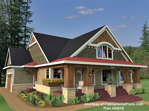 inspiring house plans with front porch 7 craftsman style