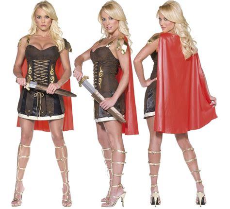 imagenes de guerreras egipcias disfraz de gladiadora o guerrera romana para mujer talla l