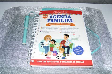 Agenda Familial 2016 Le Memoniak