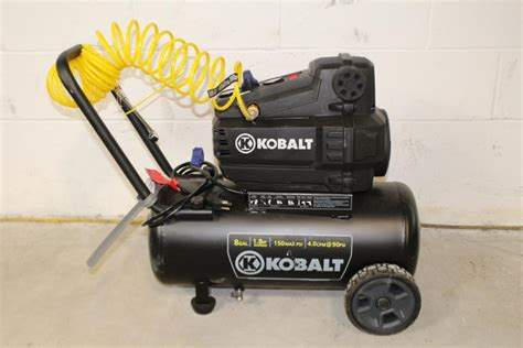 kobalt  gal air compressor property room