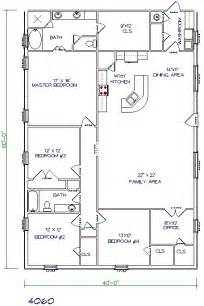 Metal Houses Floor Plans by Metal Barn House Floor Plans