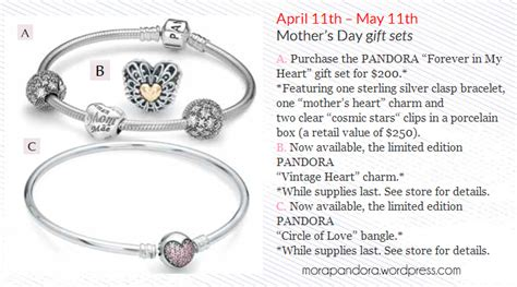 promo alert spend the picture perfect mothers day at iw promotion alert pandora mother s day 2014 gift sets for