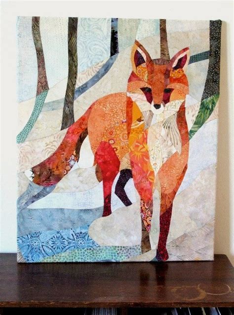 Quilted Fox by 1000 Images About Shadow Applique Etc On