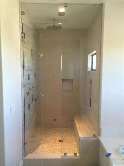Frameless Shower Doors San Diego San Diego Frameless Steam Shower Patriot Glass And