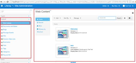 liferay templates free liferay portal news liferay 6 2 web content aui