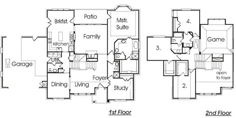 Front To Back Split House 4 Level Backsplit House Plans