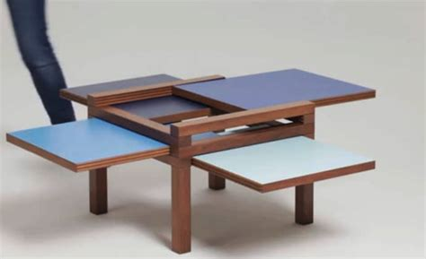 tetra table versatile coffee table with space saving design