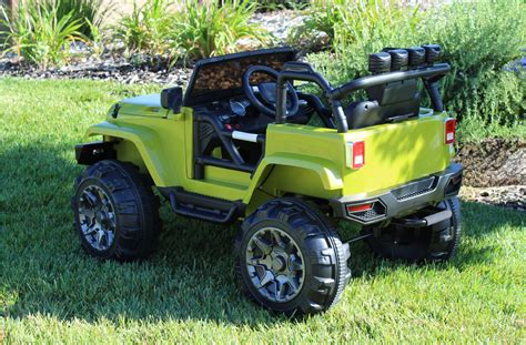jeep power wheels for ride on jeep truck power wheels style parental remote