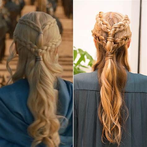 hambre hairstyles game of thrones braid tutorial popsugar beauty