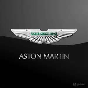 Aston Martin Emblem Aston Martin 3d Badge On Black Digital