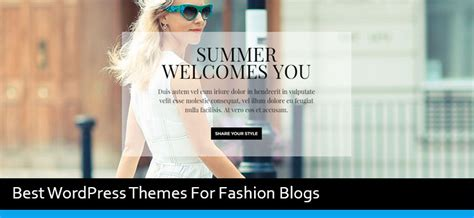 best wordpress themes video blog 15 best wordpress themes for fashion blog of 2017 modern