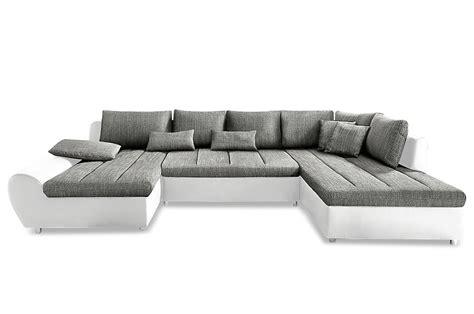 Graues Sofa 48 by Sit More Wohnlandschaft Bandos Mit Schlaffunktion