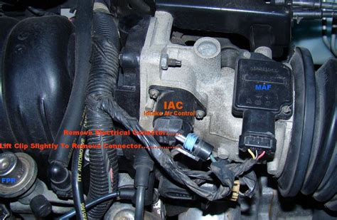 intake air control cleaning iac on 97 park avenue gm forum buick cadillac olds gmc how to clean idle air valve 2006 buick rendezvous delphi