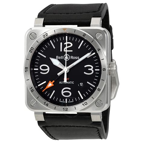 Bell And Ross bell and ross aviation gmt black automatics s