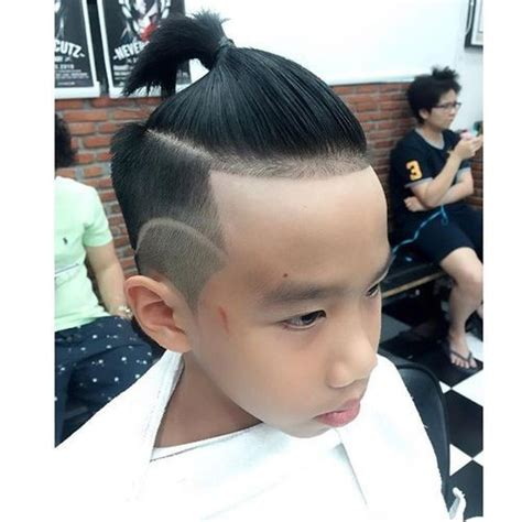 ponytail with an a line cut ponytail with an a line cut trendy 30 asian men hairstyles