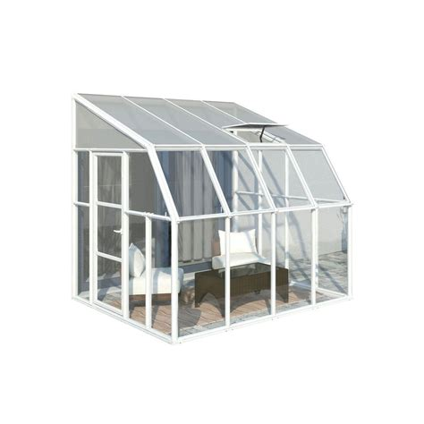 Home Depot Greenhouse by Rion Sun Room 8 Ft X 8 Ft Clear Greenhouse 702121 The