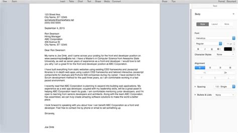 howto write a cover letter how to write a cover letter
