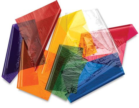 colored cellophane sheets hygloss cello sheets blick materials