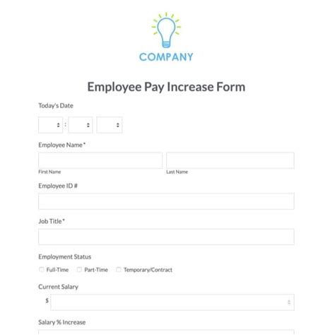 employee starter form template employee of the month nomination form template images
