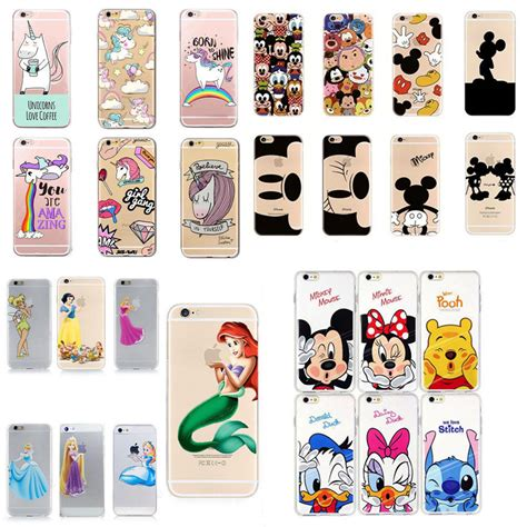 disney protective back soft cover for