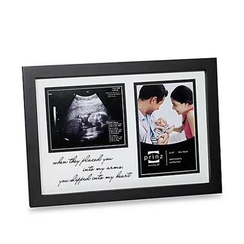 bed bath and beyond frames buy new addition sonogram photo frame from bed bath beyond