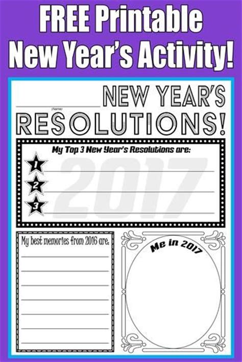 new year literacy activities 17 best images about activities for new year s on