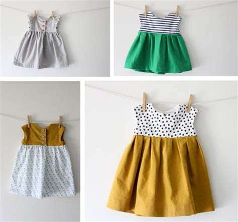 dress pattern how to make diy baby dress the aurthi picmia