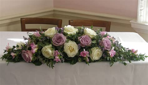 Wedding Flower Table Arrangement by Top Table Flower Arrangements For Weddings Images