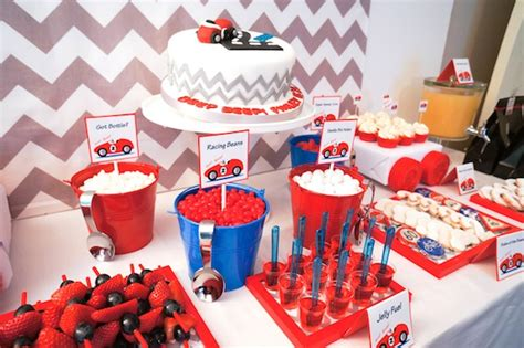 cars themed birthday ideas kara s party ideas car themed boy 2nd birthday party