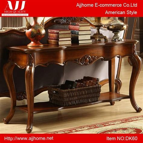 classic American wooden console table   DK60   AJJ (China Trading Company)   Living Room