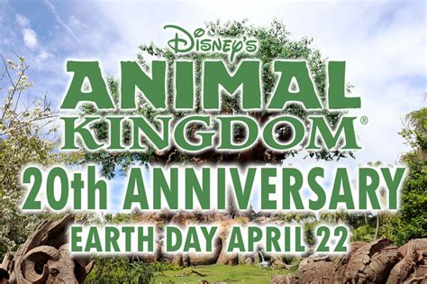 libro kingdom come 20th anniversary disney s animal kingdom celebrates 20 years on earth day with brand new events passport to the