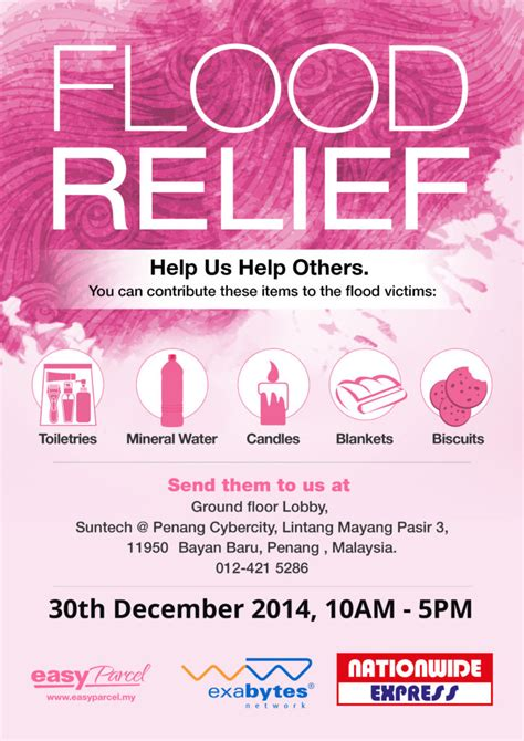 Flood Relief Campaign » EasyParcel Flood Relief Donations