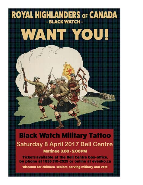 military tattoo quebec canada april 8 montreal qc black watch military tattoo vimy