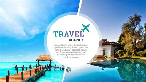 Travel And Tourism Powerpoint Presentation Template By Rojdark Graphicriver Microsoft Powerpoint Templates Tourism