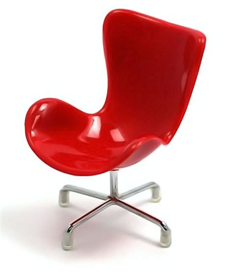 Home Decoratives hitplay red plastic chair mobile phone holder buy hitplay