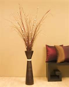 Decorative Floor Vases Bamboo Sticks Decorative Vases 28 Quot Fluted Bamboo Floor Vase