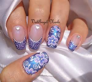 valangel nails art nail art quot elegant violet quot