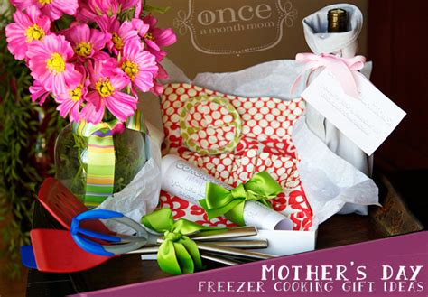 mother s day gifts for the cook in the kitchen crafty mother s day freezer cooking gift baskets once a month meals
