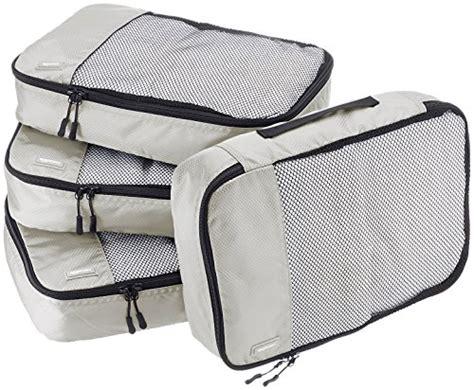 Bureau Amazonbasics by Amazonbasics Lot De 4 Sacoches De Rangement Pour Bagage Taille M Gris Avis Boutique Dmoz Fr