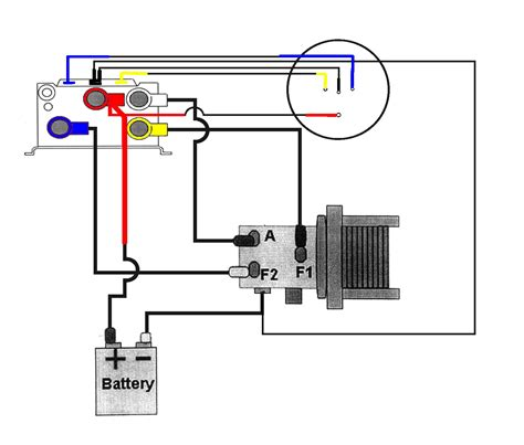 warn winch motor wiring diagram wiring diagram